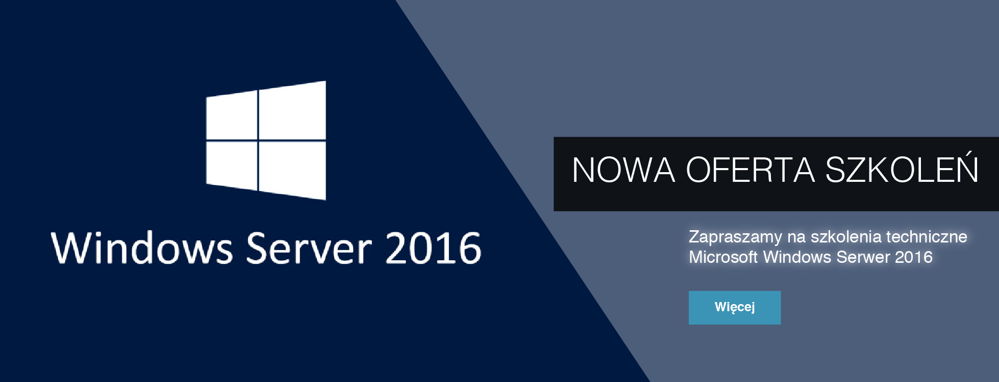 Szkolenia Microsoft Windows Server 2016
