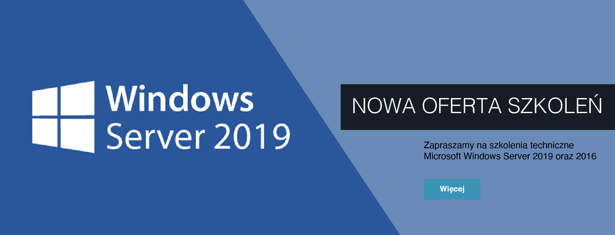 Szkolenia Microsoft Windows Server 2019